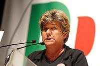 NAPOLI 15/06/2012 CONFERENZA NAZIONALE PER IL LAVORO DEL PARTITO DEMOCRATICO.NELLA FOTO SUSANNA CAMUSSO.FOTO CIRO DE LUCA.