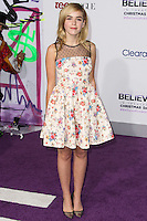"LOS ANGELES, CA - DECEMBER 18: Actress Kiernan Shipka arrives at the World Premiere Of Open Road Films' ""Justin Bieber's Believe"" held at Regal Cinemas L.A. Live on December 18, 2013 in Los Angeles, California. (Photo by Xavier Collin/Celebrity Monitor)"
