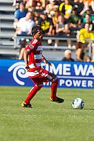 28 AUGUST 2010:  FC Dallas' David Ferreira (10) during MLS soccer game between FC Dallas vs Columbus Crew at Crew Stadium in Columbus, Ohio on August 28, 2010.