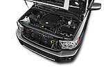 Car Stock 2016 Toyota Sequoia 5.7-Auto-SR5 5 Door SUV Engine  high angle detail view