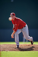 Boston Red Sox pitcher Jason Groome (56) during an Instructional League game against the Minnesota Twins on September 24, 2016 at CenturyLink Sports Complex in Fort Myers, Florida.  (Mike Janes/Four Seam Images)