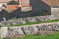 stone walls Bodega La Setera, DO Arribes del Duero spain castile and leon