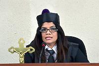Pilar Rufino Díaz.Magistrada, juez Presidenta del Cuarto Tribunal Colegiado del DN.Ciudad: Santo Domingo.Fotos:  Carmen Suárez/acento.com.do.Fecha: 25/05/2011.