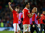 Ben Woodburn of Wales acknowledges the crowd during the World Cup Qualifying Group D match at the Cardiff City Stadium, Cardiff. Picture date 2nd September 2017. Picture credit should read: Simon Bellis/Sportimage
