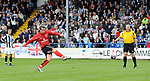 Darlington's Clarke Keltie scores from the penalty spot during the League Two playoff match at The Spotland, Stadium, Rochdale. Picture date 10th May 2008. Picture credit should read: Simon Bellis/Sportimage
