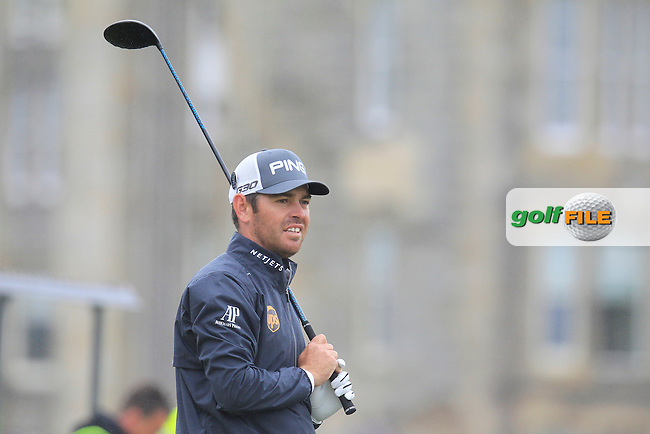 Louis Oosthuizen (RSA) on the 2nd during the final round on Monday of the 144th Open Championship, St Andrews Old Course, St Andrews, Fife, Scotland. 20/07/2015.<br /> Picture: Golffile | Fran Caffrey<br /> <br /> <br /> All photo usage must carry mandatory copyright credit (&copy; Golffile | Fran Caffrey)