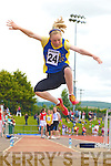 Elaine Courtney Spa/Muckross competing in the long jump at the Denny County Community Games in An Riocht Castleisland on Sunday              Copyright Kerry's Eye 2008