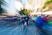 L.A. Marathon in motion.