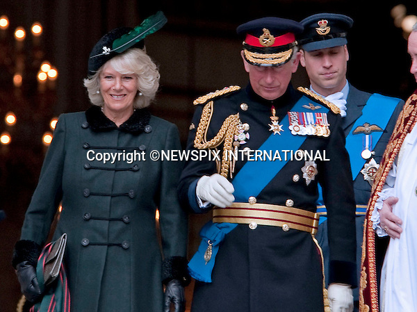 "PRINCES CHARLES AND WILLIAM AND CAMILLA DUCHESS OF CORNWALL.attended the Service of Commemoration to mark the end of combat operations in Iraq in St Paul's Catherdral, London_09/10/2009.Mandatory Photo Credit: ©Dias/Newspix International..**ALL FEES PAYABLE TO: ""NEWSPIX INTERNATIONAL""**..PHOTO CREDIT MANDATORY!!: NEWSPIX INTERNATIONAL(Failure to credit will incur a surcharge of 100% of reproduction fees)..IMMEDIATE CONFIRMATION OF USAGE REQUIRED:.Newspix International, 31 Chinnery Hill, Bishop's Stortford, ENGLAND CM23 3PS.Tel:+441279 324672  ; Fax: +441279656877.Mobile:  0777568 1153.e-mail: info@newspixinternational.co.uk"