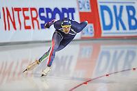 SCHAATSEN: ERFURT: Gunda Niemann Stirnemann Eishalle, 21-03-2015, ISU World Cup Final 2014/2015, Andrea Giovannini (ITA), ©foto Martin de Jong