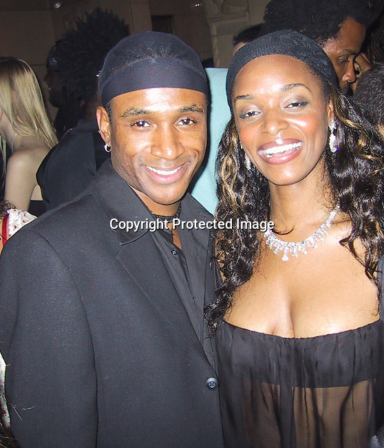 Tommy Davidson &amp; N'Bushe Wright<br />