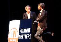 Confronto tra i candidati Sindaco per Napoli<br /> Gianni Lettieri