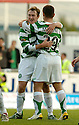 01/10/2006       Copyright Pic: James Stewart.File Name :sct_jspa05_falkirk_v_celtic.AIDEN MCGEADY CELEBRATES WITH SHAUN MALONEY AFTER HE SCORES CELTIC'S WINNER.....Payments to :.James Stewart Photo Agency 19 Carronlea Drive, Falkirk. FK2 8DN      Vat Reg No. 607 6932 25.Office     : +44 (0)1324 570906     .Mobile   : +44 (0)7721 416997.Fax         : +44 (0)1324 570906.E-mail  :  jim@jspa.co.uk.If you require further information then contact Jim Stewart on any of the numbers above.........