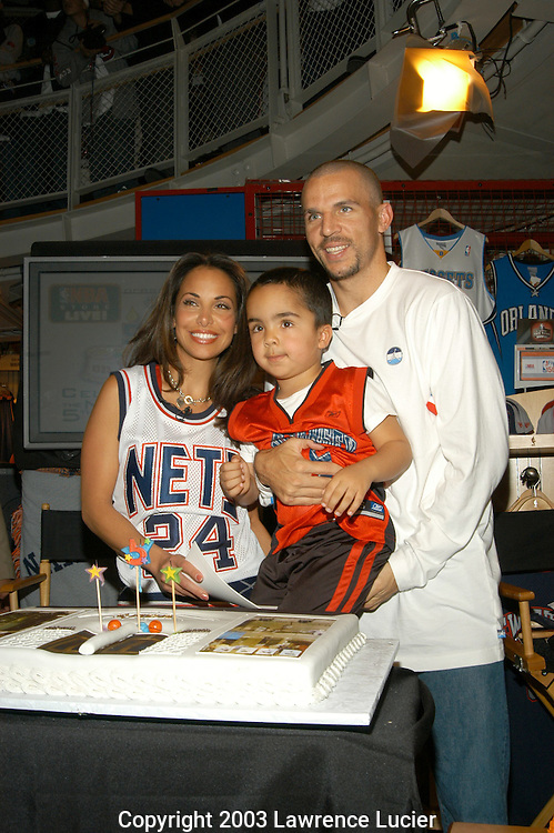 Jumana Kidd, TJ Kidd, and Jason Kidd