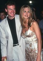 Jennifer Aniston & Tate Donovan<br /> 1997<br /> Photo By Michael Ferguson/CelebrityArchaeology.com