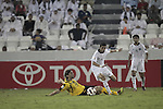 Al-Sadd vs Sepahan during the 2011 AFC Champions League Quarter-Finals match on September 28, 2011 at the Tahnoun bin Mohammed Stadium in Al Ain, United Arab Emirates. Photo by World Sport Group