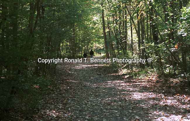 People walk on wooded trail Great Falls Commonwealth of Virginia, Fine Art Photography by Ron Bennett, Fine Art, Fine Art photography, Art Photography, Copyright RonBennettPhotography.com © Fine Art Photography by Ron Bennett, Fine Art, Fine Art photography, Art Photography, Copyright RonBennettPhotography.com ©