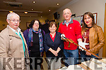 At The 1916 roadshow in Kerins O'Rahilly's Clubhouse on Saturday were L-r  Maureen Hanafin, Mary McAuliffe, Womens History Association Of Ireland, Kathleen Brown, Historical Society, Mike Lynch, Arcivist, holding the Thomas Ashe Sword and Michelle Dalton, Gael Scoil Collaiste,Chiarrai.