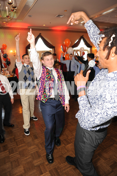 IVYLAND, PA - JUNE 8, 2013: Justin Maltz Bar Mitzvah June 8, 2013 at Spring Mill Country Club in Ivyland, Pennsylvania. (Photo by William Thomas Cain/Cain Images) http://www.cainimages.com