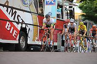 WIELRENNEN: SURHUISTERVEEN: 26-07-2016, Profronde 2016, Gary Hekman, Bauke Mollema, ©foto Martin de Jong
