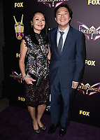 "WEST HOLLYWOOD - DECEMBER 13:  Ken Jeong at the premiere karaoke event for season one of ""The Masked Singer"" at The Peppermint Club on December 13, 2018 in West Hollywood, California. (Photo by Scott Kirkland/Fox/PictureGroup)"
