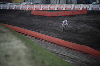 World Champion Mathieu Van der Poel (NLD/BKCP-Corendon) leads the race almost from start to finish<br /> <br /> Grand Prix Adrie van der Poel, Hoogerheide 2016<br /> UCI CX World Cup