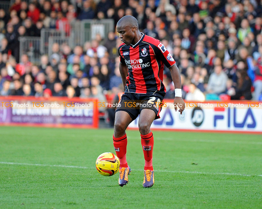 Tokelo Rantie of AFC Bournemouth - AFC Bournemouth vs Bolton Wanderers - Sky Bet Championship Football at the Goldsands Stadium, Bournemouth, Dorset - 02/11/13 - MANDATORY CREDIT: Denis Murphy/TGSPHOTO - Self billing applies where appropriate - 0845 094 6026 - contact@tgsphoto.co.uk - NO UNPAID USE