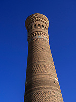 Kalon Minarett, Buchara, Usbekistan, Asien, UNESCO-Weltkulturerbe<br />