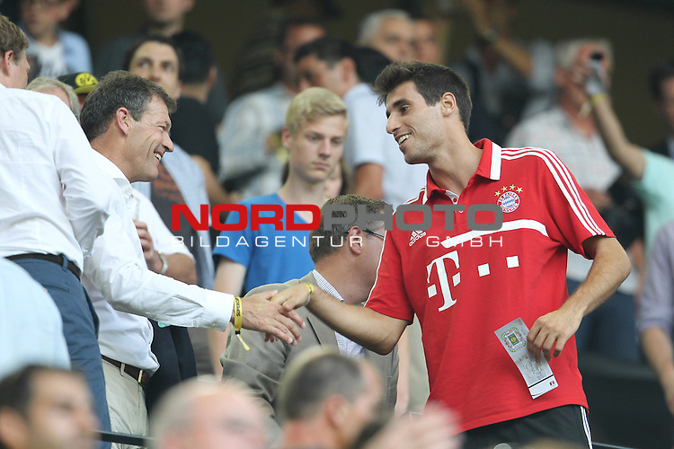 27.07.2013, Signal Iduna Park, Dortmund, GER, 1. FBL, SuperCup, Borussia Dortmund vs FC Bayern M&uuml;nchen, im Bild<br /> Javi Martinez (Muenchen #8)<br /> <br /> Foto &copy; nph / Mueller