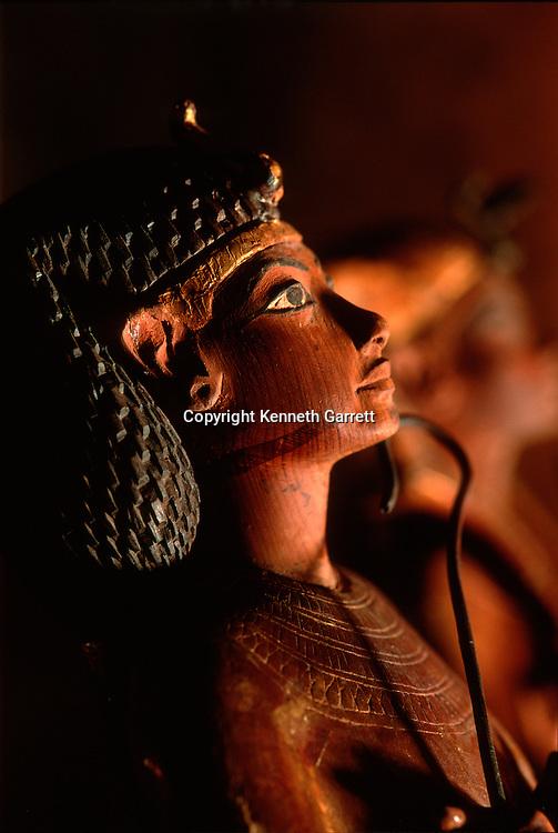 Egypt; New Kingdom; Luxor Museum, Tut, Tutankhamun, Tutankhamen, Ushabti