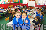 Presentation Primary pupils jadyn Lucey and Rebecca Negru who both celebrate theri Eleventh birthdays on the 11/11/11.