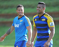 130704 Super Rugby - Hurricanes Training