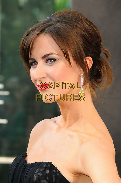 Katherine Kelly.Arrivals at the Arqiva British Academy Television Awards held at the Royal Festival Hall, London, England..May 27th, 2012.BAFTA BAFTAS headshot portrait red lipstick black strapless .CAP/CJ.©Chris Joseph/Capital Pictures.