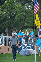 Martin Kaymer (GER) waits to putt on 18 during day 3 of the Valero Texas Open, at the TPC San Antonio Oaks Course, San Antonio, Texas, USA. 4/6/2019.<br /> Picture: Golffile | Ken Murray<br /> <br /> <br /> All photo usage must carry mandatory copyright credit (&copy; Golffile | Ken Murray)