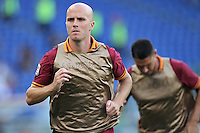 ROME, Italy - September 1, 2013: Roma beats Verona 3-0 during the Serie A match in Olimpico Stadium.
