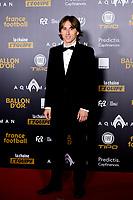Luka Modric <br /> Parigi 3-12-2018 <br /> Arrivi Cerimonia di premiazione Pallone d'Oro 2018 <br /> Foto JB Autissier/Panoramic/Insidefoto <br /> ITALY ONLY