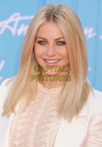 Julianne Hough.American Idol Season 11 Finale - Arrivals held at Nokia Theatre LA Live, Los Angeles, California, USA..May 23rd, 2012.headshot portrait beige white blazer lace.CAP/ROT/TM.©Tony Michaels/Roth Stock/Capital Pictures
