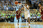 30 January 2016: North Carolina's Isaiah Hicks. The University of North Carolina Tar Heels hosted the Boston College Eagles at the Dean E. Smith Center in Chapel Hill, North Carolina in a 2015-16 NCAA Division I Men's Basketball game. UNC won the game 89-62.