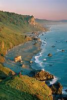 Split Rock<br /> Redwood National Park<br /> Del Norte County<br /> California