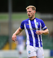 Sheffield Wednesday's Tom Lees<br /> <br /> Photographer Chris Vaughan/CameraSport<br /> <br /> Football Pre-Season Friendly - Lincoln City v Sheffield Wednesday - Saturday July 13th 2019 - Sincil Bank - Lincoln<br /> <br /> World Copyright © 2019 CameraSport. All rights reserved. 43 Linden Ave. Countesthorpe. Leicester. England. LE8 5PG - Tel: +44 (0) 116 277 4147 - admin@camerasport.com - www.camerasport.com