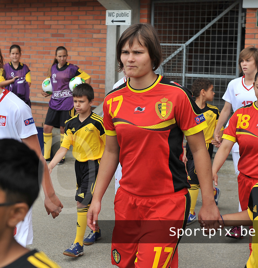 Belgium - Poland : Lotte Aertsen<br /> foto David Catry / nikonpro.be