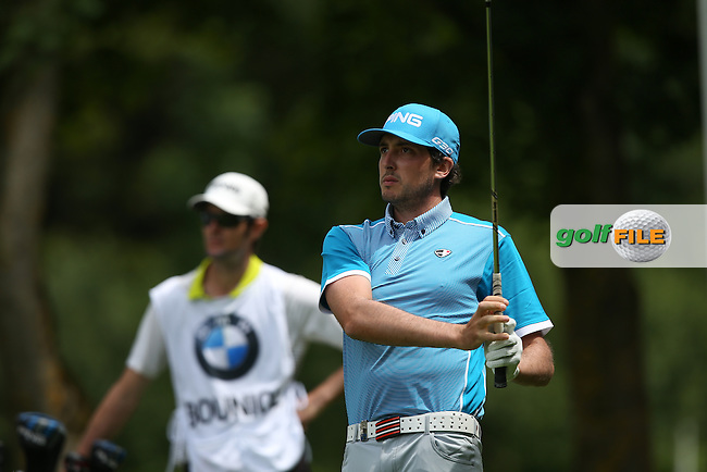 Cyril Bouniol (FRA) during Round One of the 2015 BMW International Open at Golfclub Munchen Eichenried, Eichenried, Munich, Germany. 25/06/2015. Picture David Lloyd | www.golffile.ie