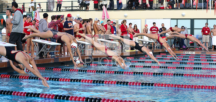 Stanford, CA; Saturday October 6, 2012: Swimming Alumni Meet.