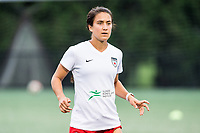 Boston, MA - Friday July 07, 2017: Jennifer Hoy during a regular season National Women's Soccer League (NWSL) match between the Boston Breakers and the Chicago Red Stars at Jordan Field.