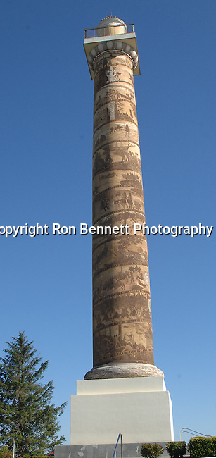 """Astoria Column at mouth of Columbia River Oregon, Oregon, Spectacular rugged Oregon Coast, Spectacular views of Oregon Coast, Oregon, Fine art Photography and Stock Photography by Ronald T. Bennett Photography ©, FINE ART and STOCK PHOTOGRAPHY FOR SALE, CLICK ON  """"ADD TO CART"""" FOR PRICING,"""