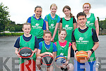 Team Kerry held their first summer camp in Killarney last week. .Front L-R Erica McGlynn, Kelly-Anne Ahern, Kate Stack and Ewan Weldon. .Back L-R Shelly Clifford, Ciara O'Donoghue, Fianait O'Donoghue and Ava O'Doherty.