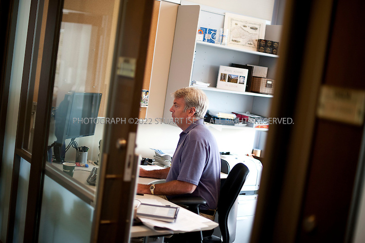 6/20/2011--Bellevue, WA, USA..Brian MacDonald (Corporate Vice President, Core Search Program Management),  in his office in Microsoft's Bellevue offices. Microsoft's Bing search tool was unveiled by Microsoft CEO Steve Ballmer on May, 2009...©2011 Stuart Isett. All rights reserved.