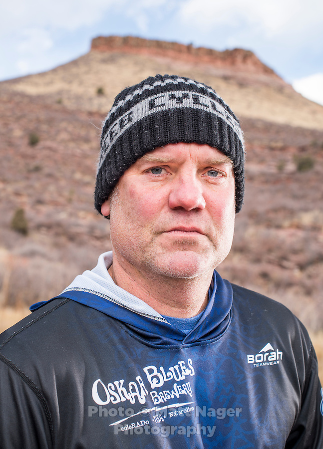 Dale Katechis, owner and founder of the Oskar Blues Brewery at Hall Ranch outside of Lyons, Colorado, Monday, December 12, 2016. Katechis is an avid biker and now enjoys winter riding to snowboarding.<br /> <br /> Photo by Matt Nager