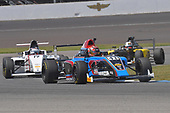 2017 F4 US Championship<br /> Rounds 4-5-6<br /> Indianapolis Motor Speedway, Speedway, IN, USA<br /> Sunday 11 June 2017<br /> #41 Braden Eves followed by #19 Timo Reger and  #86 Brendon Leitch<br /> World Copyright: Dan R. Boyd<br /> LAT Images