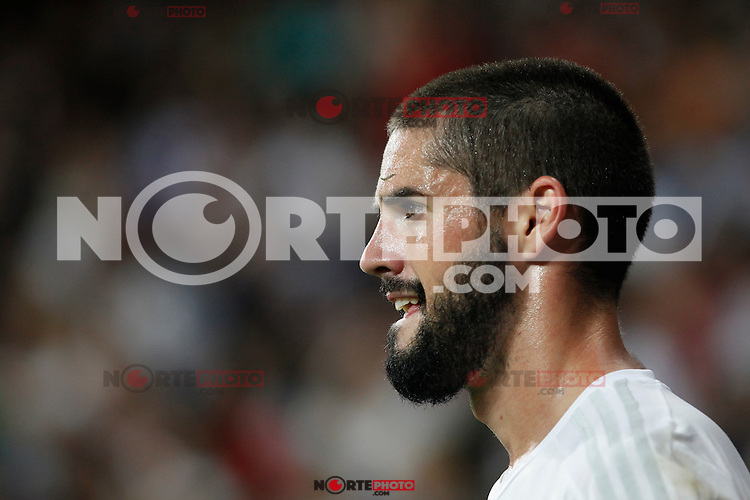 Real Madrid´s Isco Alarcon during Santiago Bernabeu Trophy match at Santiago Bernabeu stadium in Madrid, Spain. August 18, 2015. (ALTERPHOTOS/Victor Blanco)